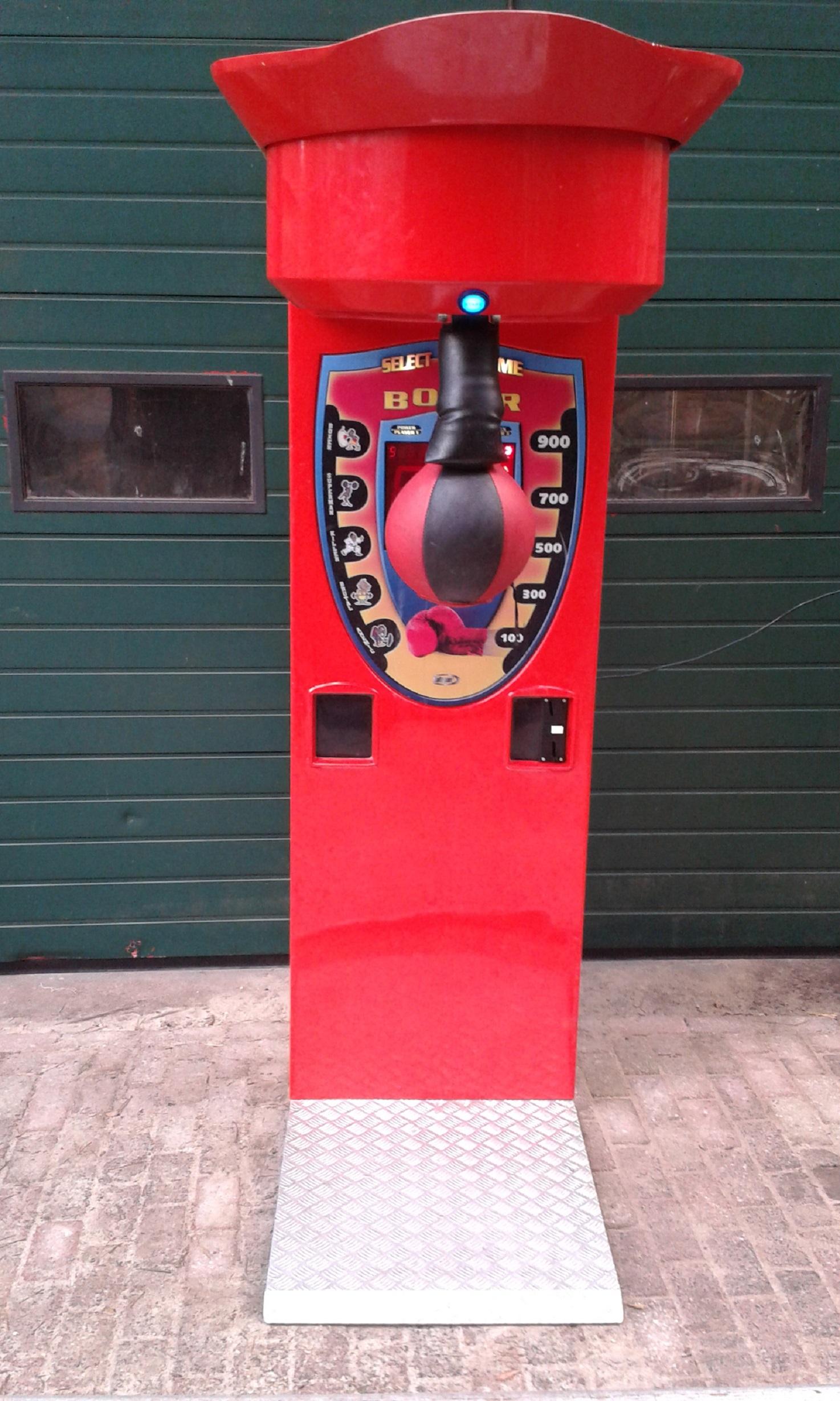 Uitgelezene Boksbal Automaat huren - AttractieFun TA-56