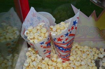Extra porties popcorn